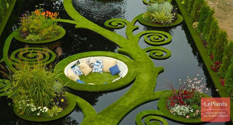 Искусственный водоем для растений в саду — проектирование и строительство