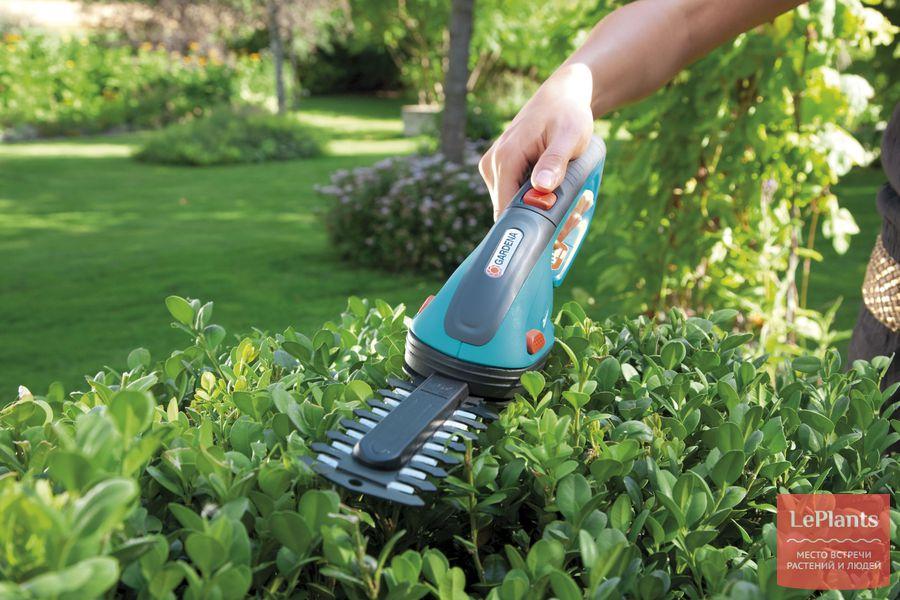 ножницы для травы гардена