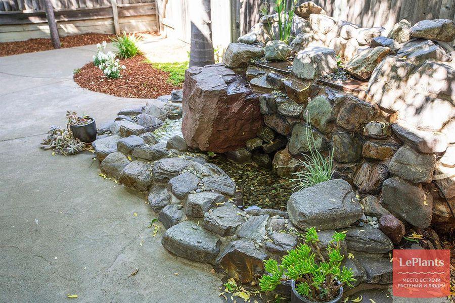 цементный раствор для альпийской горки