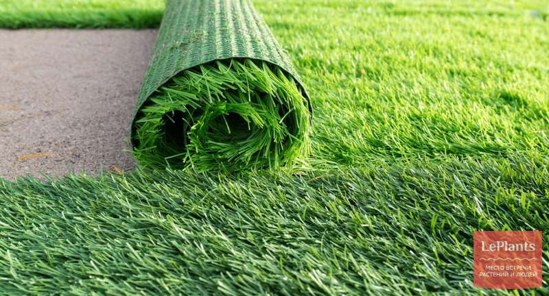 Искусственный газон: виды и правила укладки